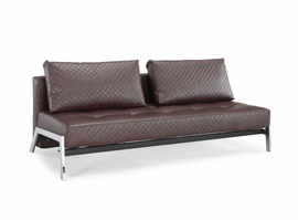 Lifestyle Solutions Denmark Brown Sleep Sofa Convertible