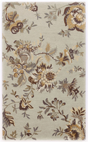 Livia - Sage Cottage Sage/Brown Rug
