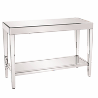 Howard Elliott 11096 - Orion Mirrored Console Table with Shelf