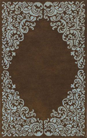 Lorraine - Brown Blue Traditional Classics Area Rug