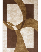 Luna - Ivory Contemporary Area Rug