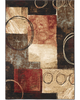 Manhattan - Midnight Contemporary Rug