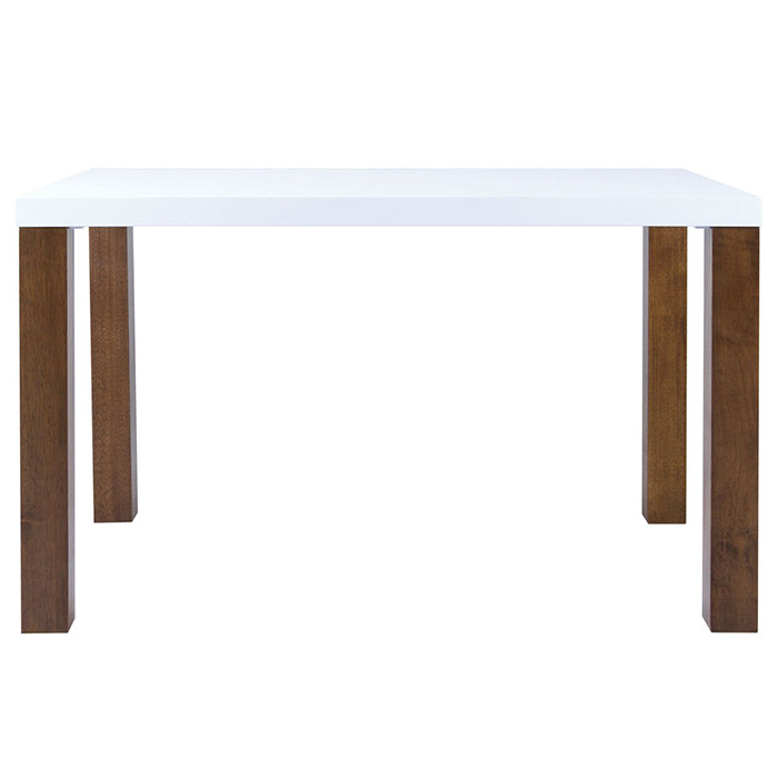 Modloft 1409687 1449174 Alexander 47quot White Lacquer and  : modloft 1409687 1449174 alexander 47 white lacquer and walnut dining table 2 from store.zfurniture.com size 700 x 700 jpeg 104kB