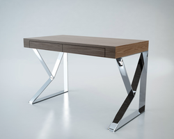 Modloft Houston Walnut Desk