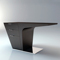 Modloft Mercer Wenge Desk