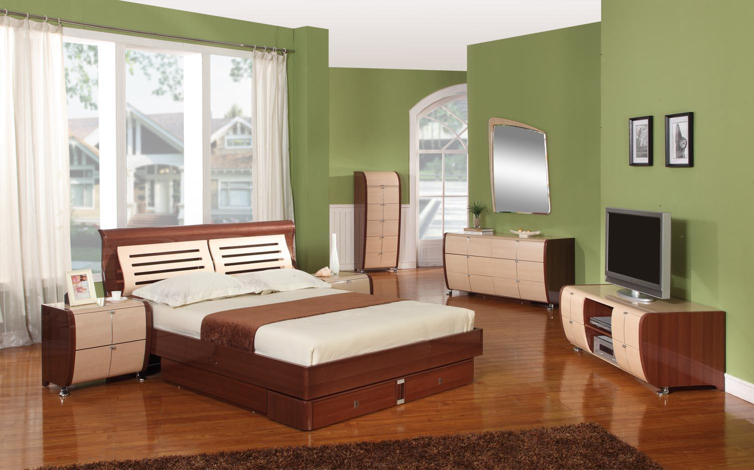 Platform Bedroom Set Home Contemporary Beds Platforms Vig Bedroom