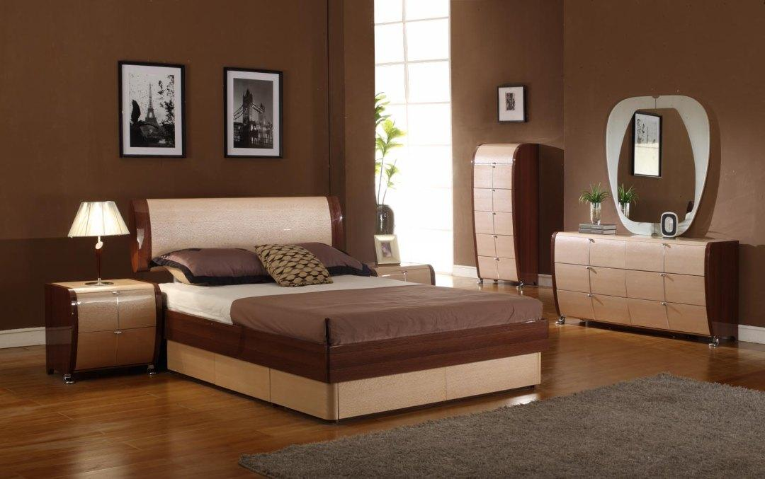 Modrest Maya Modern Lacquer Bedroom Set