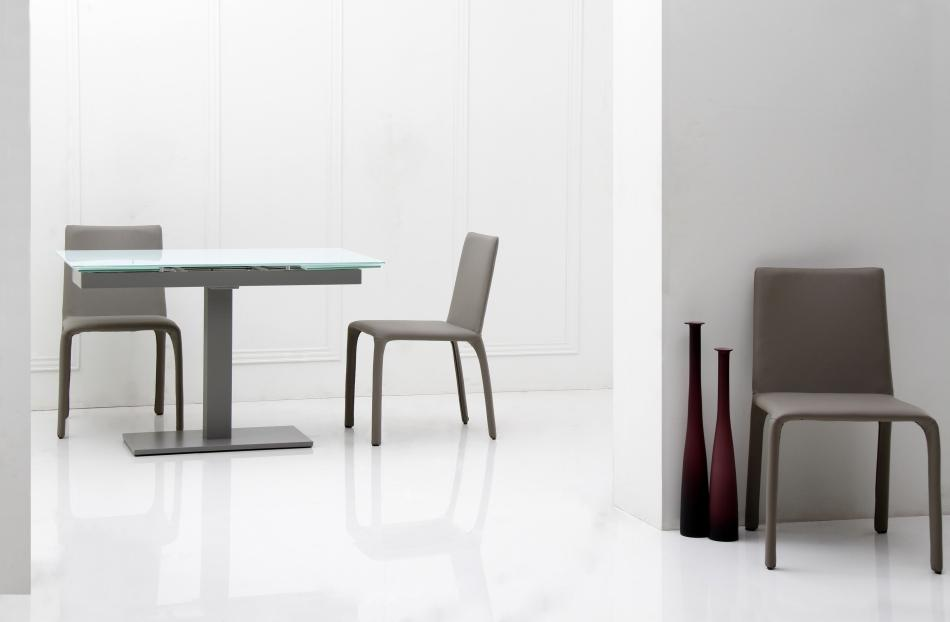 Modern Dining Modrest Taste Extendable Modern Dining Table