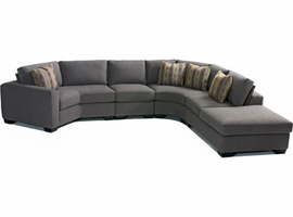 Montgomery - Sectional Fabric Sofa
