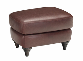 Natuzzi Editions A297 Leather Ottoman