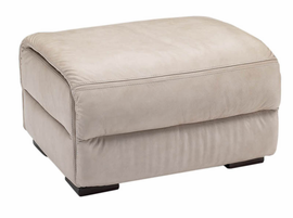 Natuzzi Editions A319 Leather Ottoman