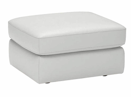 Natuzzi Editions A397 Leather Ottoman
