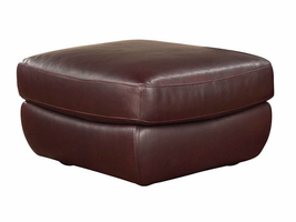 Natuzzi Editions  A399 Leather Ottoman