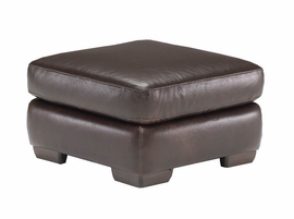Natuzzi Editions A492 Leather Ottoman