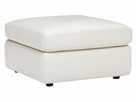 Natuzzi Editions  A498 Leather Ottoman
