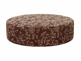 Natuzzi Editions  A921 Leather Ottoman