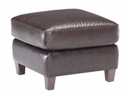 Natuzzi Editions B591 Leather Ottoman