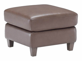 Natuzzi Editions  B592 Leather Ottoman