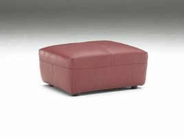 Natuzzi Editions B636-010 Leather Ottoman