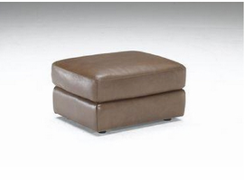Natuzzi Editions B757-010 Leather Ottoman