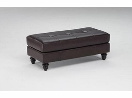 Natuzzi Editions B868-100 Leather Ottoman