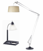 New York Adesso Contemporary Lamps