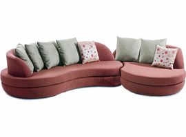 Niche - Sectional Fabric Sofa