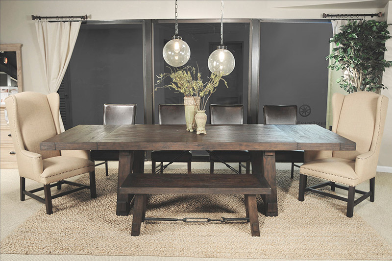 furniture dining room orient express furniture 6090 carter extension