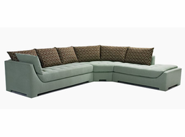 Orlando - Sectional Fabric Sofa