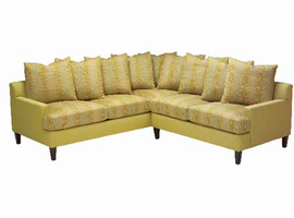 Pacifica - Sectional Fabric Sofa