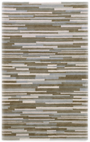 Parquet - Slate Contemporary Blue/Grey Rug