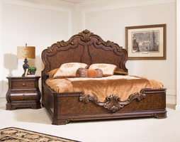 Pulaski Furniture Wellington Manor 5/0 Queen Platform Bed