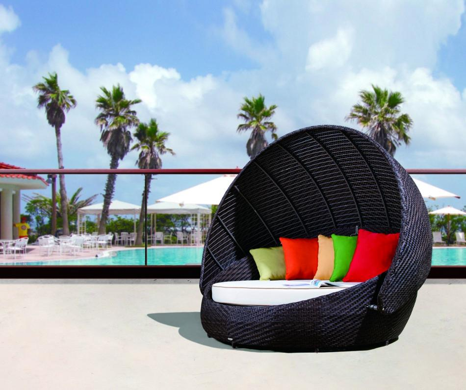 round patio chair with canopy 3
