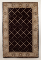 Rochelle - Black Traditional Classics Medium Rug