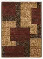 Rosemont - Red Cottage Red/Brown/Gold Medium Rug