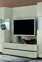Rossetto Nightfly White TV Unit