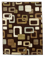 Sandia - Chocolate Contemporary Medium Rug