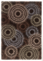 Sparkle - Multi Contemporary Brown Rug
