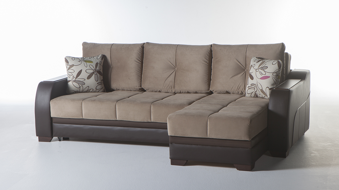 Sunset Istikbal Ultra Sectional Lilyum Vizon