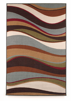 Tidal - Multi Contemporary Small Rug