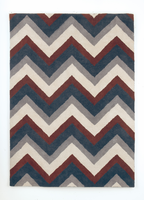 Whitman - Navy Contemporary Medium Rug