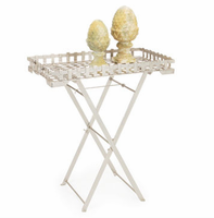 Woven Folding Tray Table