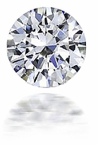 1 ct. 6.5mm Round Cubic Zirconia Loose Stone