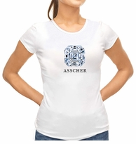 Asscher Cut Diamond Shape T-Shirt