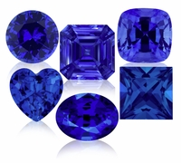 Blue Sapphire Lab Created Synthetic Loose Stones