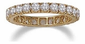 Clearance Cubic Zirconia Eternity Bands, Anniversary Bands, Wedding Bands On Sale