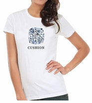 Cushion Cut Diamond Shape T-Shirt