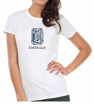 Emerald Cut Diamond Shape T-Shirt