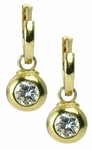 Festina Drop Earrings featuring Ziamond Cubic Zirconia