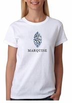 Marquise Diamond Shape T-Shirt